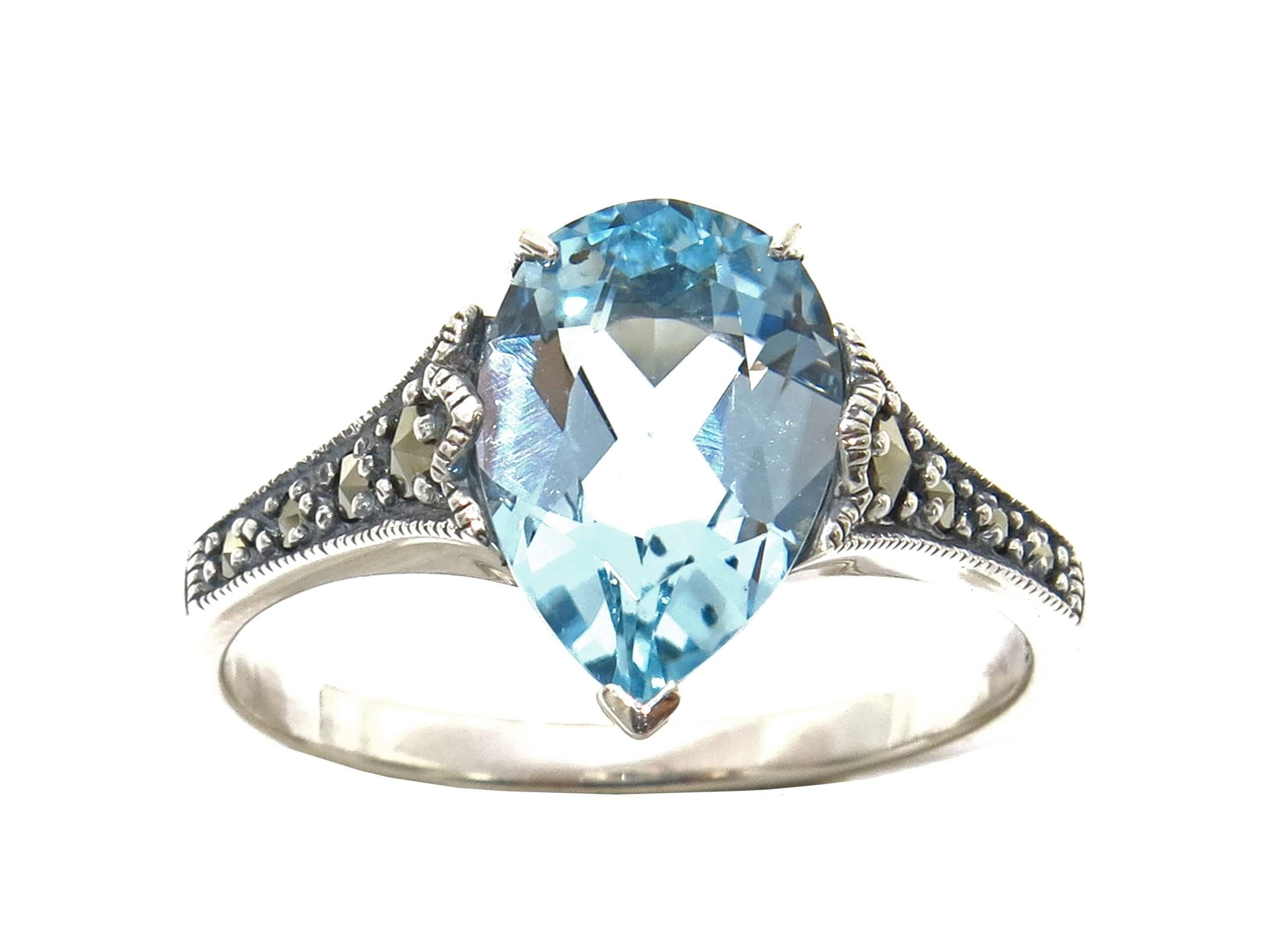 BLUE TOPAZ RING MJ24543