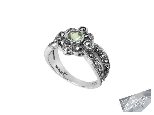 Peridot Cluster Ring MJ4004