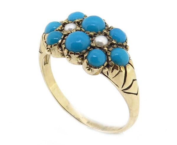 Turquoise Ring MJ7243