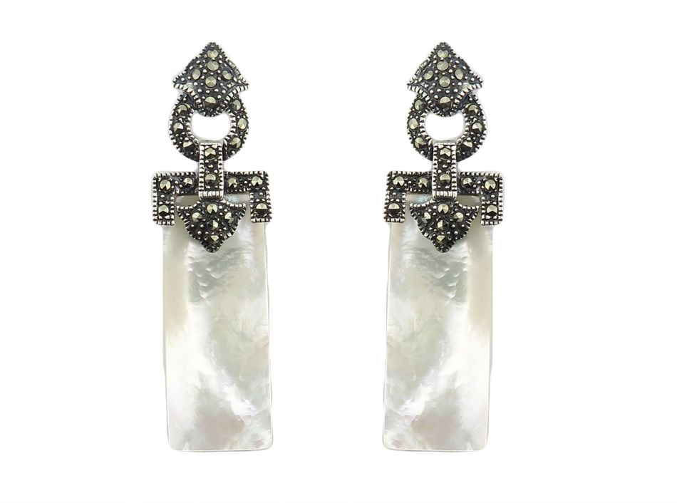 Mother of Pearl Earrings MJ7346A
